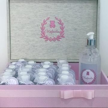 Caixa + 30 Álcool gel perfumado+ Álcool 500ml