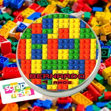 Latinha Personalizada Festa Lego