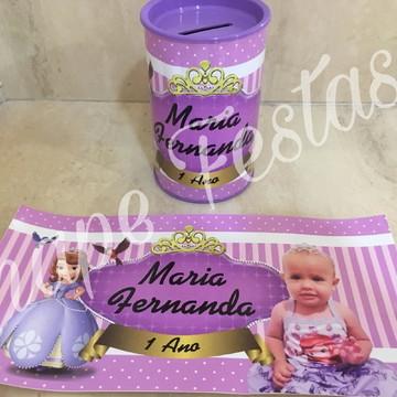 Cofre personalizado Princesa Sofia
