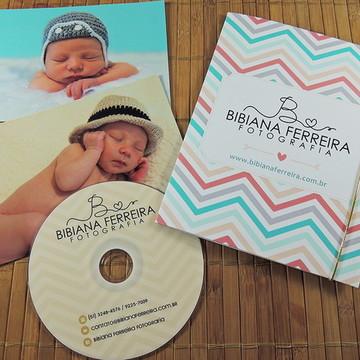 Case Duplo com DVD Fotografia