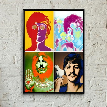 Quadro Fab four pop art