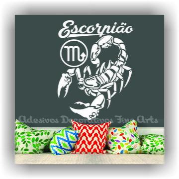 Adesivo Decorativo Signos Z Escorpião