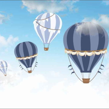 Painel Balão de Ar G - Frete Grátis