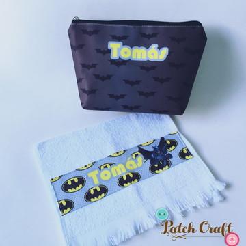 Kit Necessaire M + Toalha Personalizada