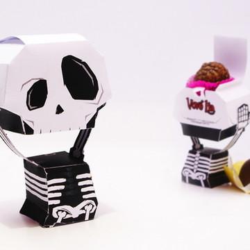 Festa Halloween - Caveirinha divertida