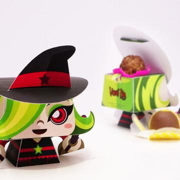 Festa Halloween - Bruxinha