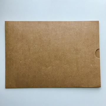 Envelope rústico kraft 15x21,5 cm pronto para uso!