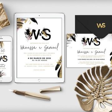 Convite (arte digital) Wassabi