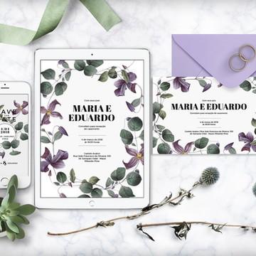 Convite (arte digital) roses