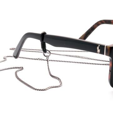 Cordão de Óculos Corrente Grafite