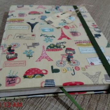 Caderno para bullet journal - Paris