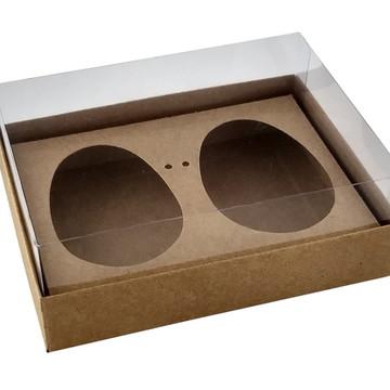 Caixa Ovo de Colher 2 x 150g Kraft