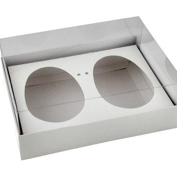 Caixa Ovo de Colher 2 x 150g Branca