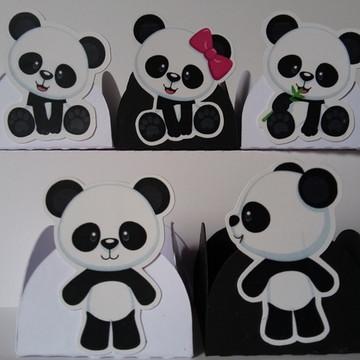 Kit Ursinho Panda - 50 forminhas