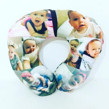 Almofada de pescoço (viagem) personalizada com fotos
