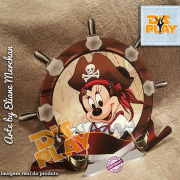 Placa Minnie Pirata