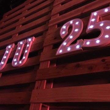 Letras e Números 40cm com LED