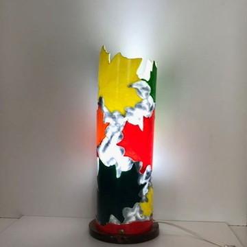 Luminária em PVC Folhas