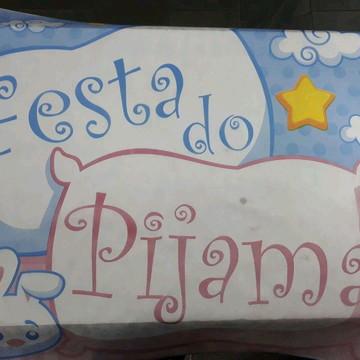 Painel Festa do Pijama em Tnt