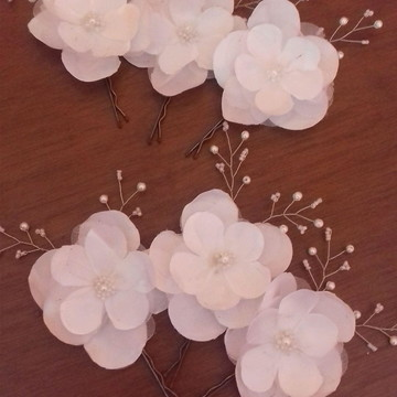 Grampo flor