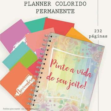 Planner Permanente Colorido