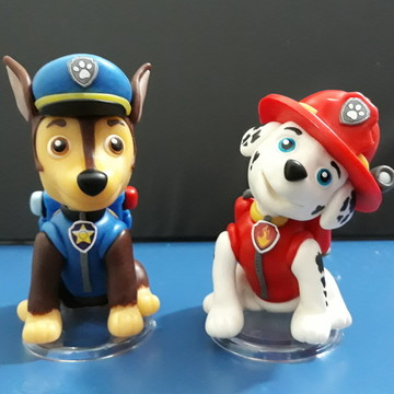 Escultura Patrulha Canina / Paw Patrol