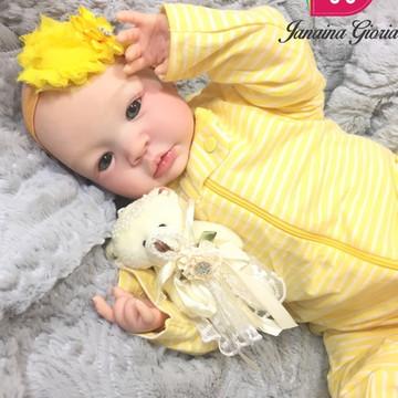 Boneca Bebê Reborn Lívia