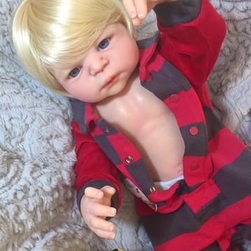 Boneca Bebê Reborn Pedro