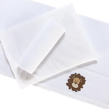 Jogo de Lençol 3 Peças 100% algodão