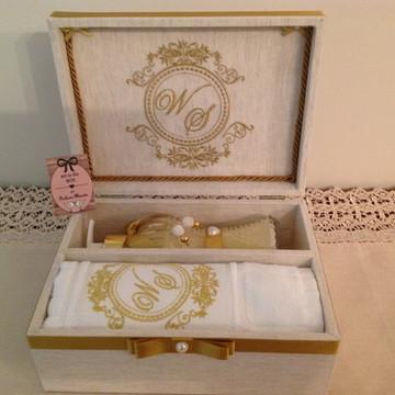 Caixa Padrinhos Casamento- kit lavabo