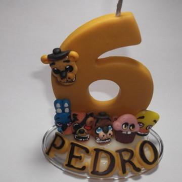 Mini topo de bolo Five Nights Golden Freddy Animatronics