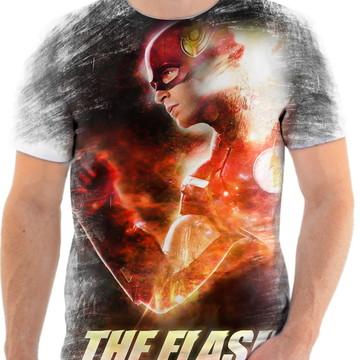 Camiseta Camisa Personalizada Série Flash Herói Liga 2
