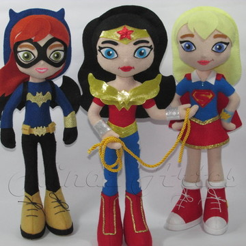 Kit DC Super Hero Girls