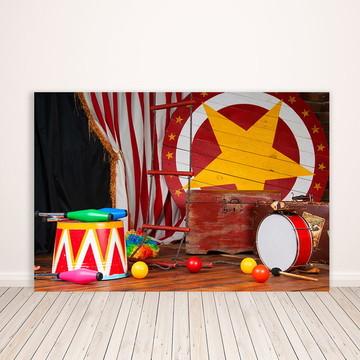 Fundo Fotográfico em Tecido Circo 2,2x1,5m - FFB-129
