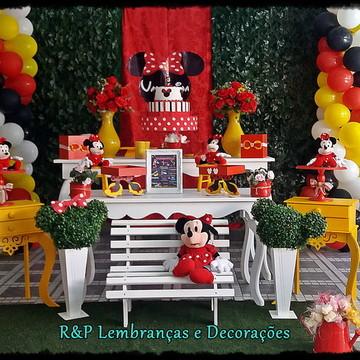 Decoração Minnie Vermelha Luxo 4 Locação