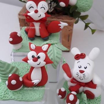 caixinhas raposas - Woodland biscuit
