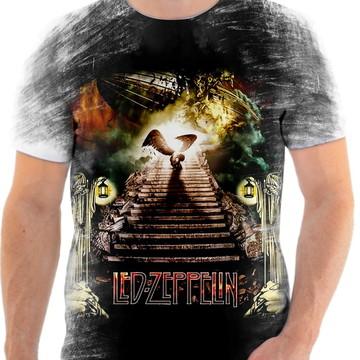 Camisa Camiseta Personalizada Led Zeppelin 11