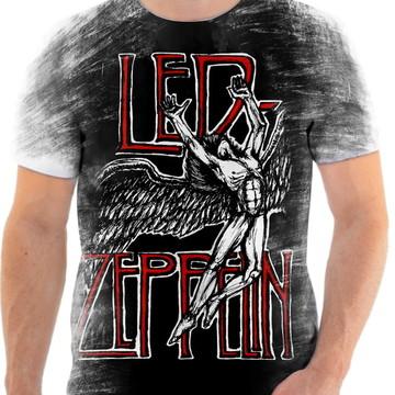Camisa Camiseta Personalizada Led Zeppelin 13