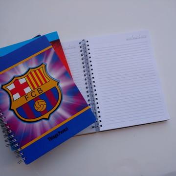 Caderno Pequeno com 200 folhas e linhas pautadas