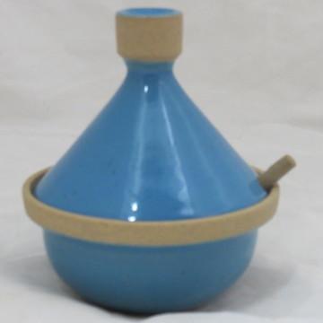 Tagine azul turquesa