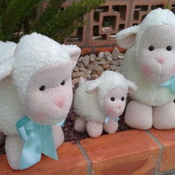 Família de ovelhas 3 peças