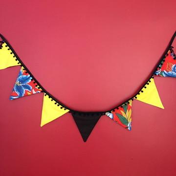Bandeirolas para decoração Frida Kahlo