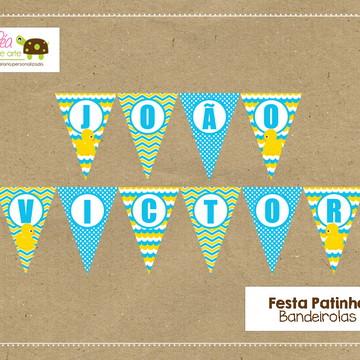 Bandeirola Festa Patinho