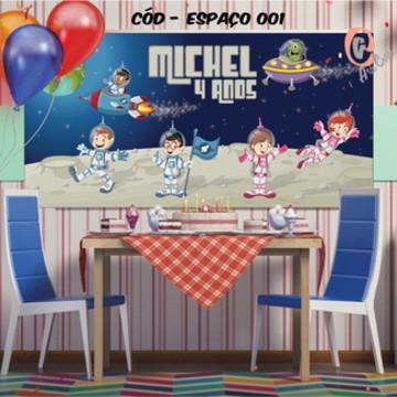 Painel festa decoração Espaço