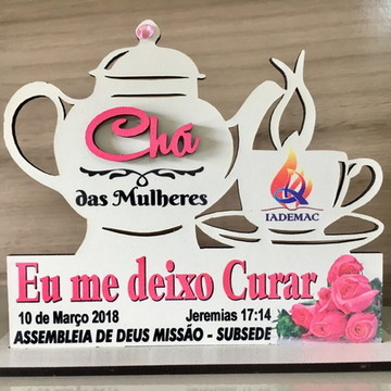 Lembrancinha Chá de Mulheres