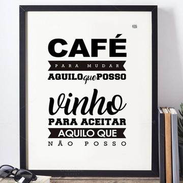 Chalkboard Café e Vinho - A4