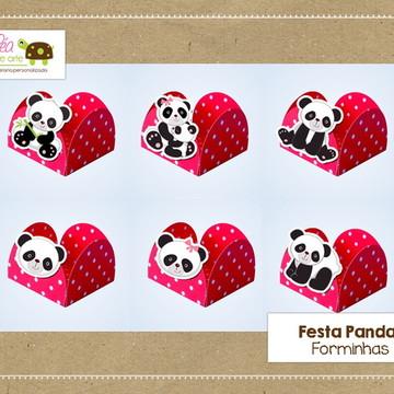 Forminha para doce Festa Panda