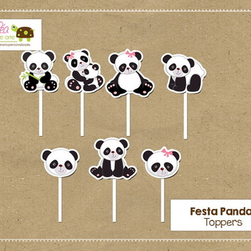 Topper Festa Panda