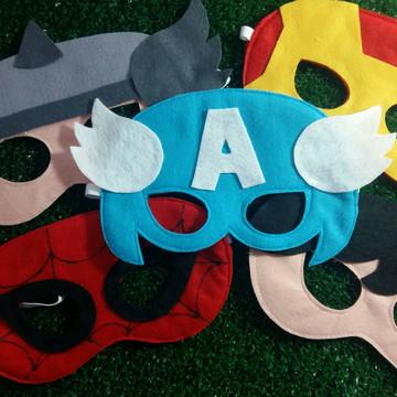 Máscaras Super Heróis - UNIDADE