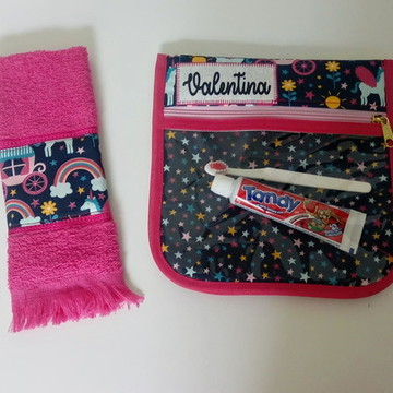 Kit higiene - Flor - PERSONALIZADO